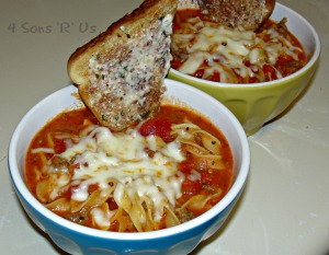 Tastes Like Lasagna Soup
