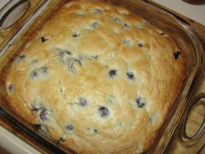 4 Sons 'R' Us: Blueberry Breakfast Cake