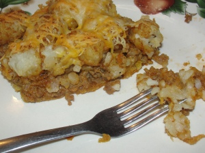 4 Sons 'R' Us: Cheeseburger and Taters Casserole