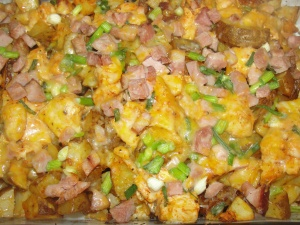 4 Sons 'R' Us: Loaded Baked Potato and Chicken Casserole