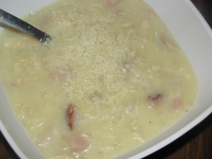 4 Sons 'R' Us: Chicken Cordon Bleu Soup
