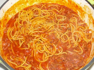 4 Sons 'R' Us: One Pot Spaghetti