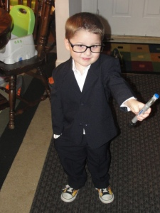 4 Sons 'R' Us: 'The Doctor' Costume; child dressed up as the infamous main character from the sy-fi show