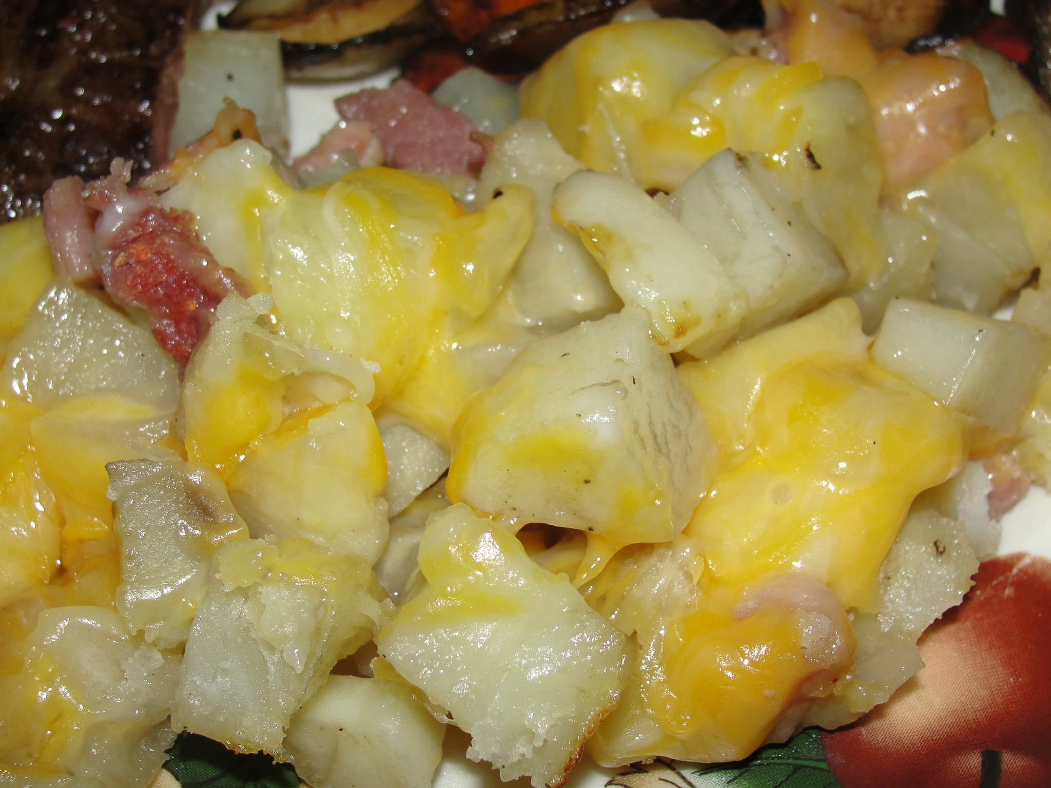 Sons 'R' Us: Grilled Triple Cheese Potatoes