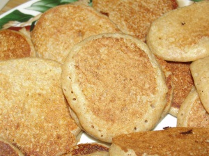 4 Sons 'R' Us: Baby Cereal Pancakes