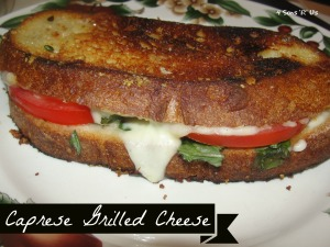 4 Sons 'R' Us: Caprese Grilled Cheese