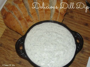 4 Sons 'R' Us: Delicious Dill Dip