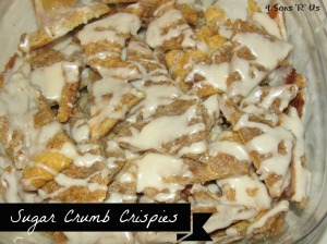 4 Sons 'R' Us: Sugar Crumb Crispies