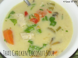 4 Sons 'R' Us: Thai Chicken Coconut Soup