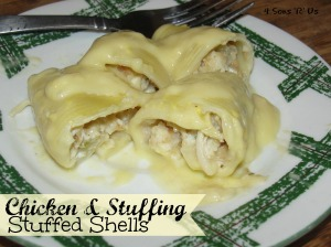 4 Sons 'R' Us: Chicken & Stuffing Stuffed Shells