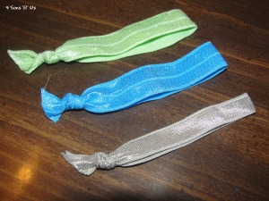 4 Sons 'R' Us: DIY Boutique Style HairTies