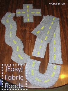 4 Sons 'R' Us: Easy Fabric Roads