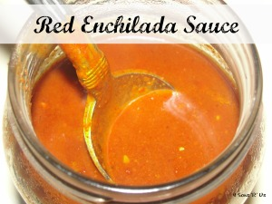 4 Sons 'R' Us: Red Enchilada Sauce