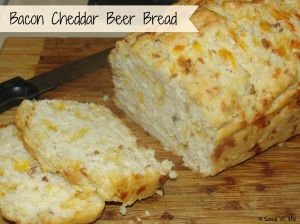 4 Sons 'R' Us: Bacon Cheddar Beer Bread