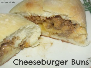 4 Sons 'R' Us: Cheeseburger Buns
