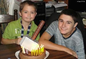 4 Sons 'R' Us: Comic Book Birthday 3