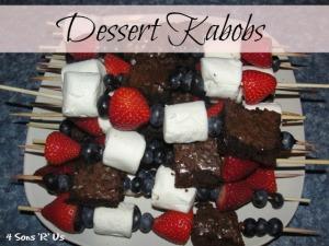 Dessert Kabobs