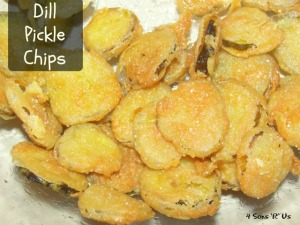 4 Sons 'R' Us: Dill Pickle Chips