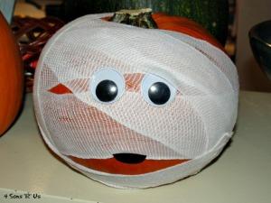 4 Sons 'R' Us: The Mummy Pumpkin