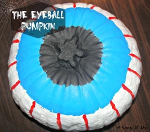 4 Sons 'R' Us: The Eyeball Pumpkin