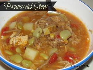 4 Sons 'R' Us: Brunswick Stew