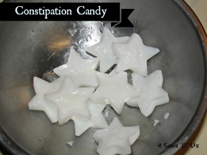 4 Sons 'R' Us: Constipation Candy