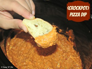 4 Sons 'R' Us: Crockpot Pizza Dip