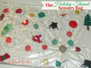 Holiday-Themed Sensory Bags