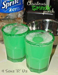 4 Sons 'R' Us: Christmas 'Grinch' Punch