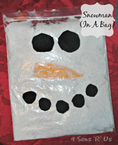 4 Sons 'R' Us: Snowman In A Bag