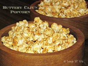 4 Sons 'R' Us: Buttery Cajun Popcorn