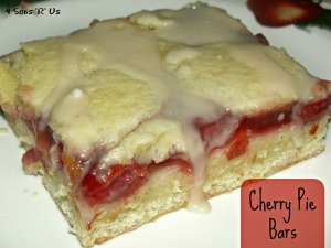 4 Sons 'R' Us: Cherry Pie Bars