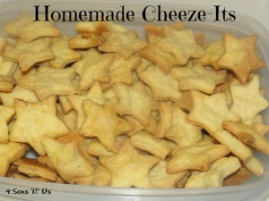 4 Sons 'R' Us: Homemade Cheez-Its
