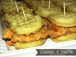 4 Sons 'R' Us: Chicken & Waffle Sliders