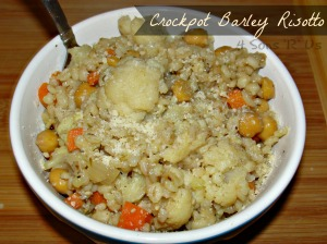 4 Son 'R' Us: Crockpot Barley Risotto