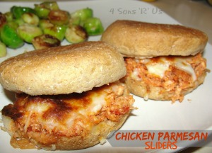 4 Sons 'R' Us: Crockpot Chicken Parmesan Sliders