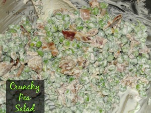 4 Sons 'R' Us: Crunchy Pea Salad