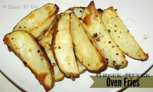 4 Sons 'R' Us: Greek-Style Oven Fries