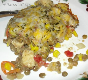 4 Sons 'R' Us: Santa Fe Style Chicken & Lentil Casserole 2