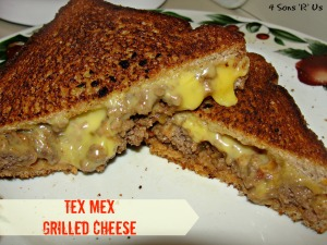4 Sons 'R' Us: Tex Mex Grilled Cheese