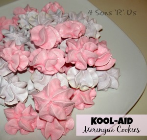 4 Snos 'R' Us: koolaid meringue cookies
