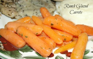 4 Sons 'R' Us: Ranch Glazed Carrots