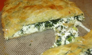 Greek Spinach Feta Chicken Pockets 2