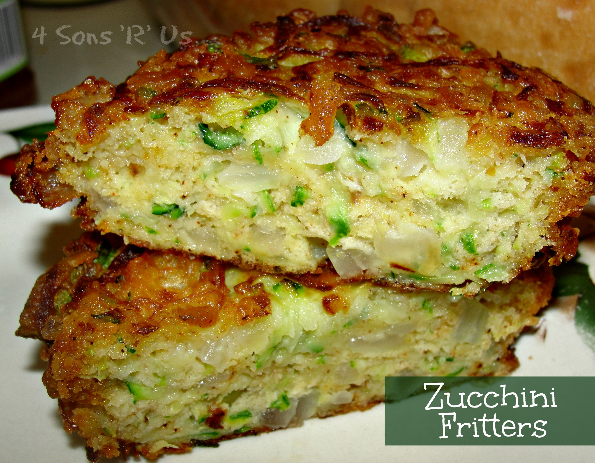 Zucchini Fritters with Chili Lime Mayo | 4 Sons 'R' Us