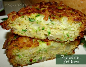 4 Sons 'R' Us: Zucchini Fritters