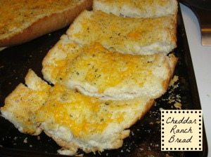 Cheddar Ranch Bread