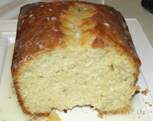 4 Sons 'R' Us: Glazed Lemon Zucchini Bread