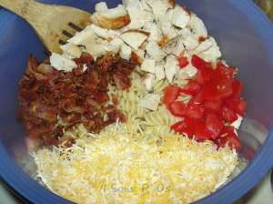4 Sons 'R' Us: Southwestern Chicken Pasta Salad 2