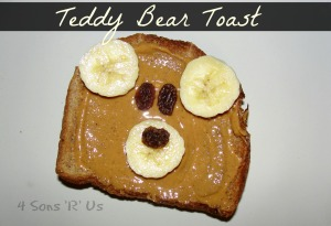 Teddy Bear Toast