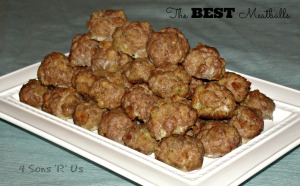 4 Sons 'R' Us: The Best Meatballs